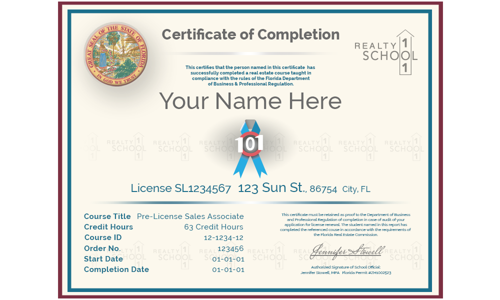 Home Default Official Realty School 101 Raising Standards
