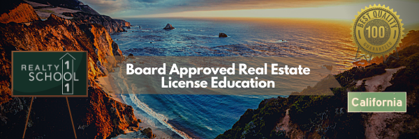 Realty School 101 - California - Board Approved Real Estate License School